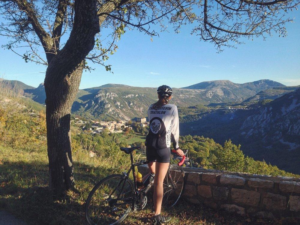 Les Préalpes d'Azur en vélo