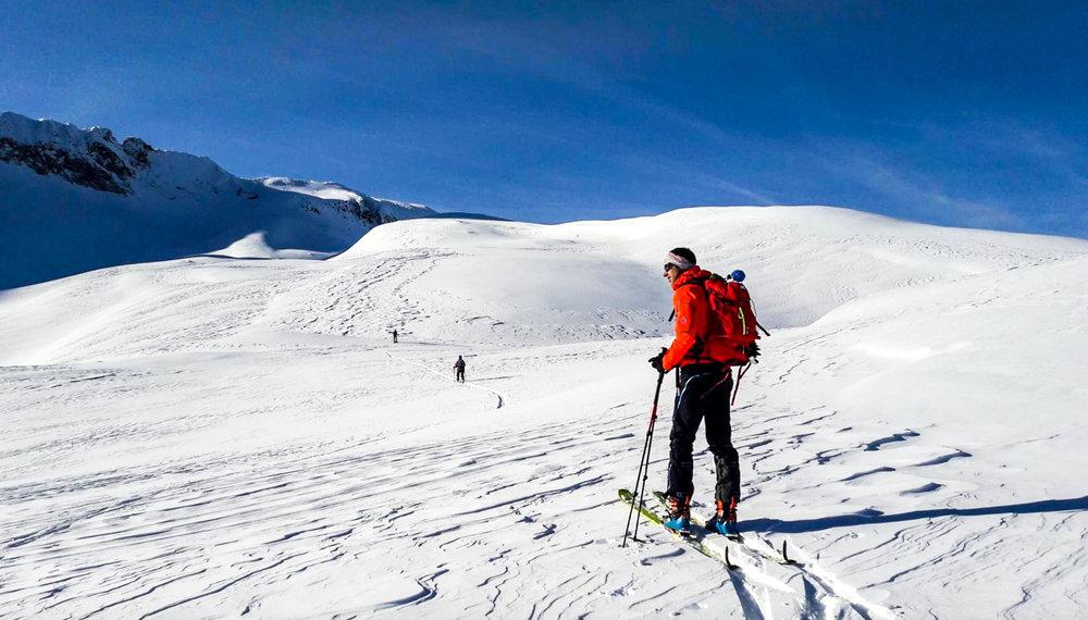Pic de Néouvielle en ski de rando