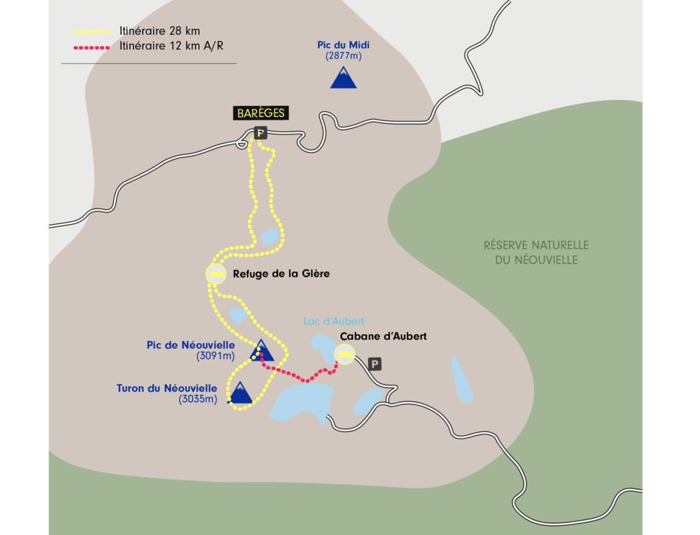 Ski de rando au Pic de Néouvielle