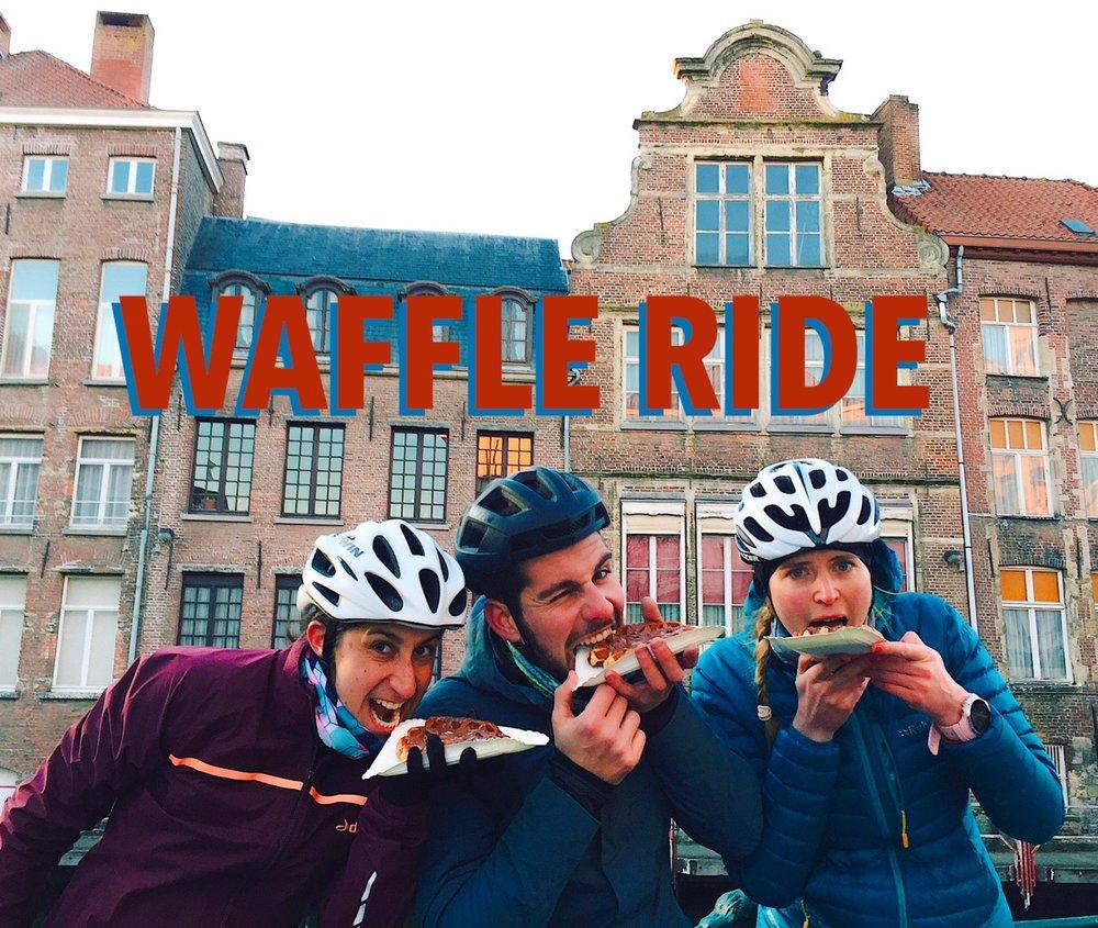 Waffle ride, la belgique à vélo