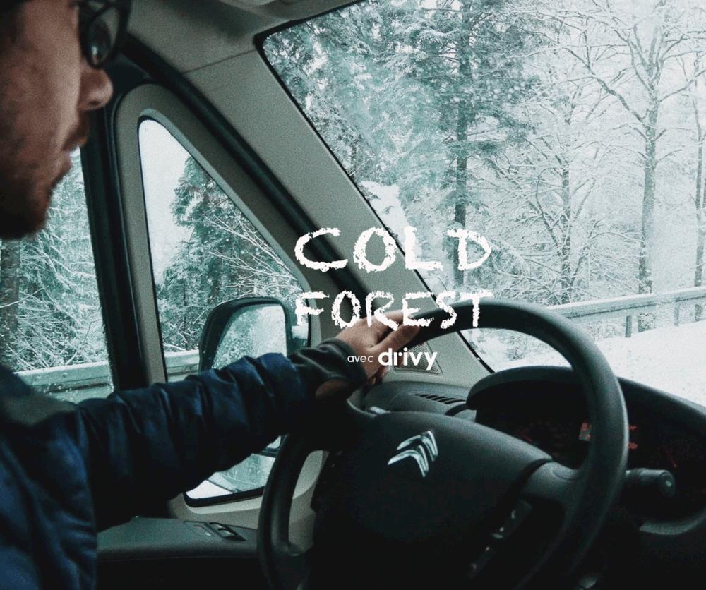 Cold Forest, en route avec drivy