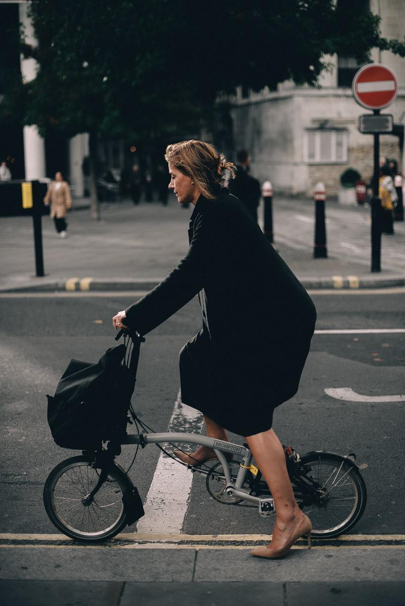 High heeled commuter.