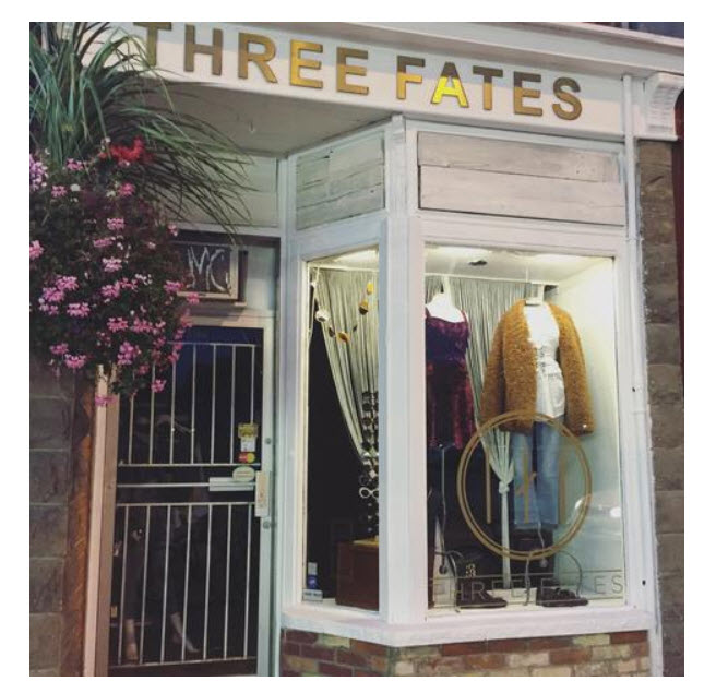 Three Fates  - Vintage and New Womens Apparel in Torontowww.threefatesshop.com1394 Queen St. W Toronto, ON