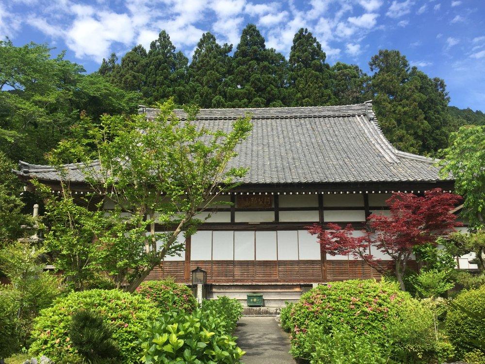 Ikeda Town temple, Japan, Ryan ZumMallen