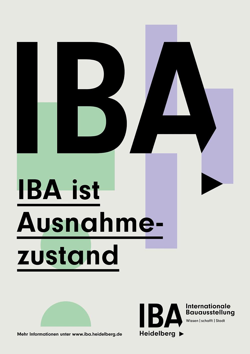 Poster - © IBA Heidelberg