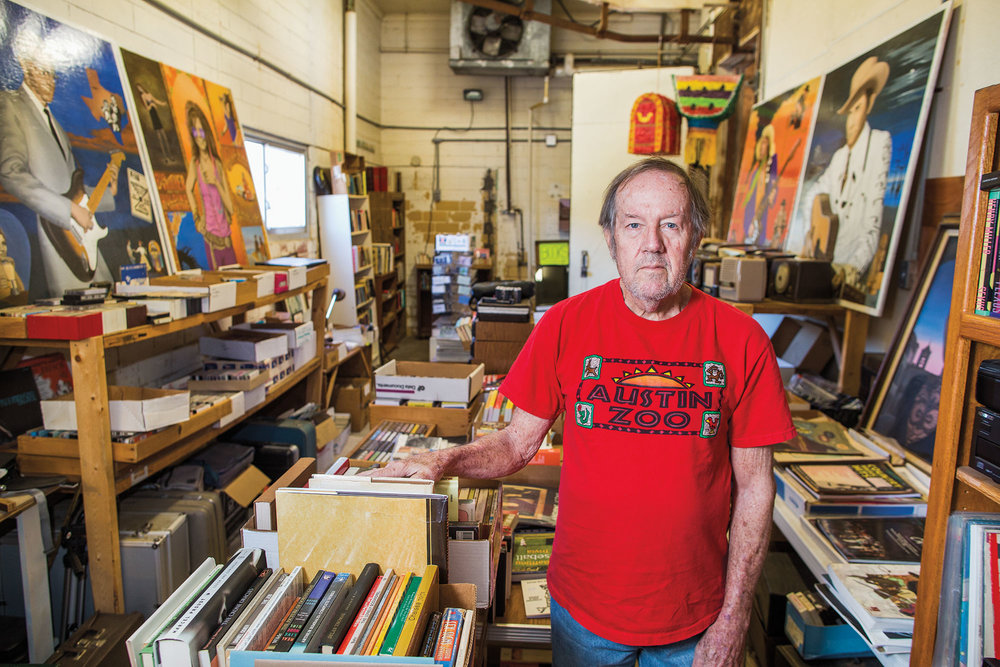Records and Things Strange owner Charles Slocumb manages two locations for his enormous collection of records, books, and other items. Photo: Tom McCarthy Jr.