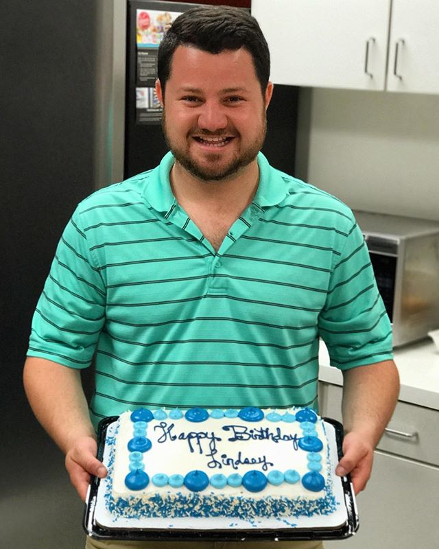 A very happy birthday to our favorite VP here at NetSpark!