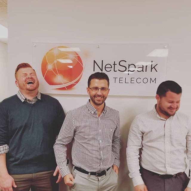 Lol'ing into Monday like... ☕💼📊 #netsparktelecom