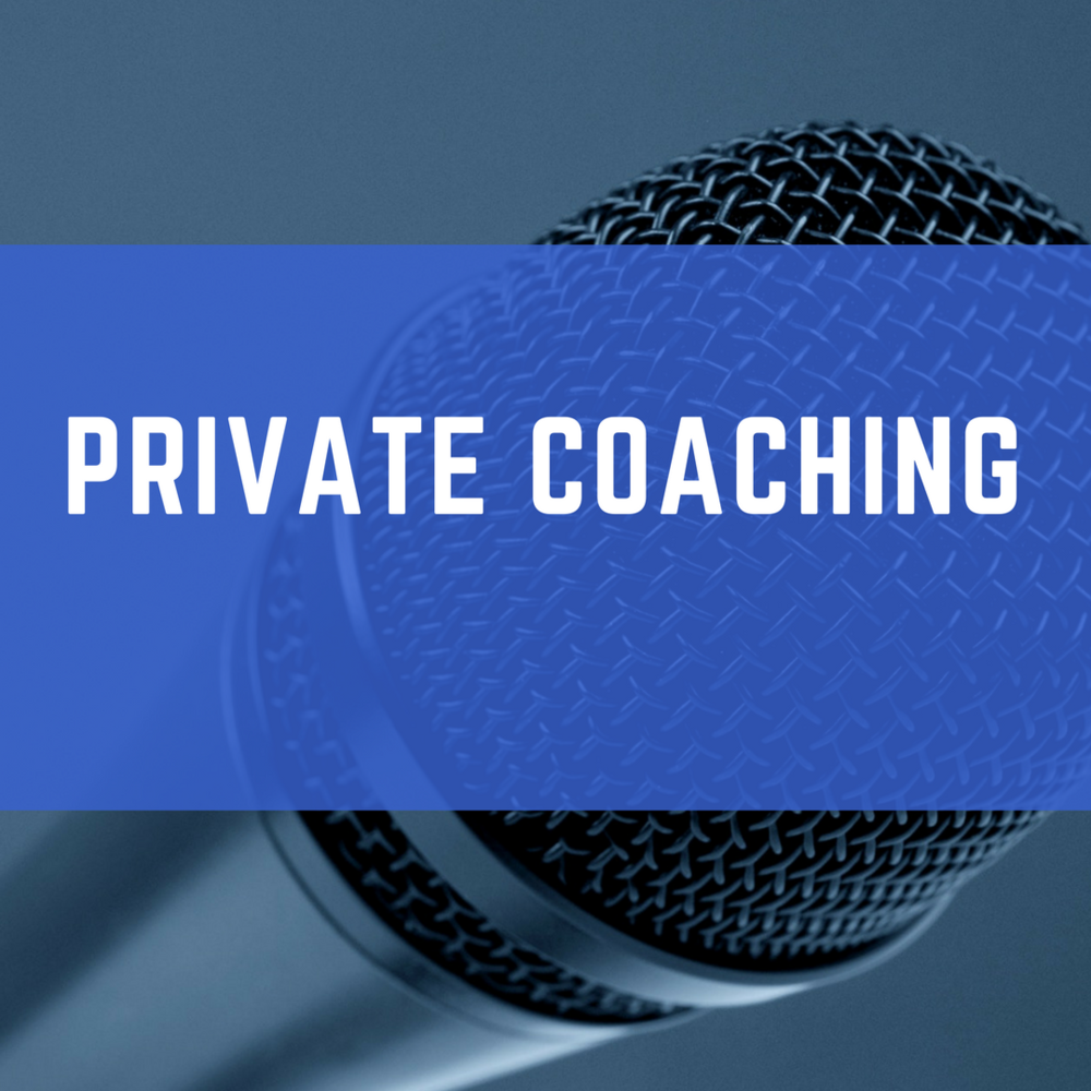 Private Coaching - Working One-On-One With A Customized Plan To Help You Become A Powerful Public Speaker Presentation Design
