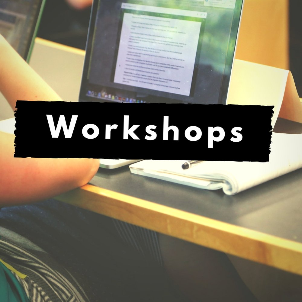 Workshops - Take one of Claudia's workshops to improve your people skills!