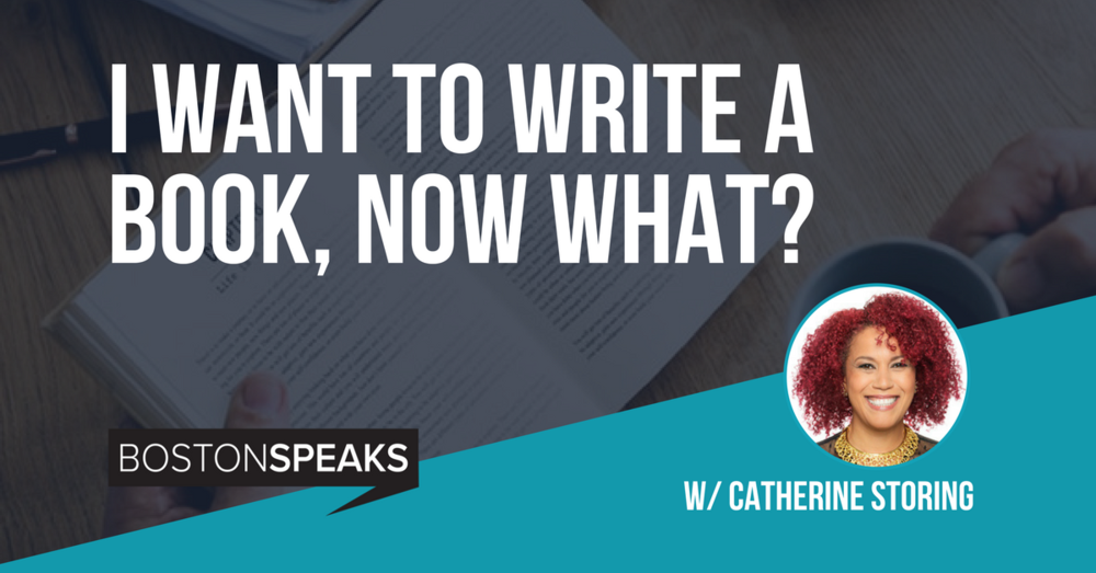 I Want To Write A Book, Now What? - Date TBA | Online Only