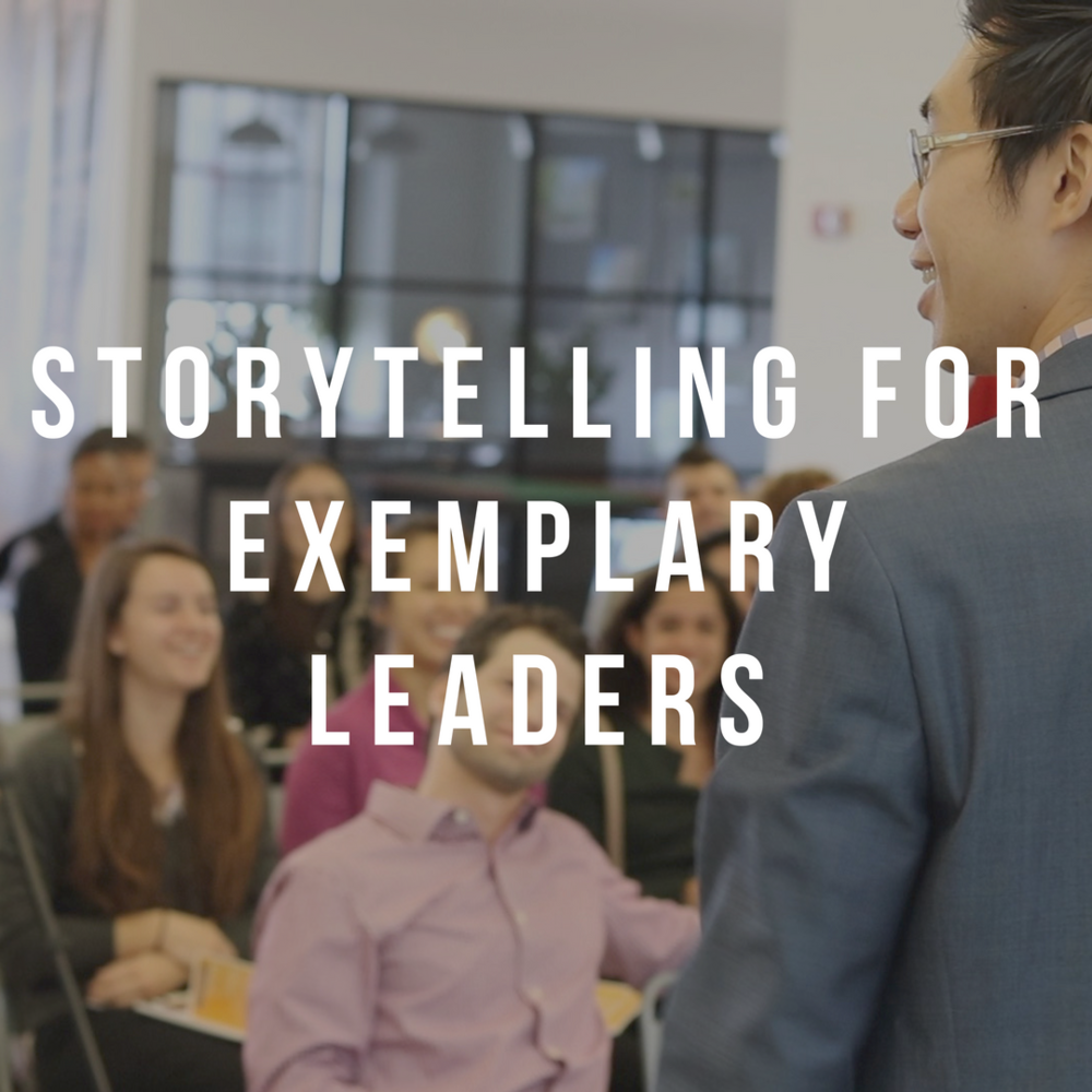 Storytelling For Exemplary Leaders  - As leaders do you know how to effectively use stories in your presentations or meetings to create value for your audience or team members? It is not always easy to cut through the clutter and deliver your presentations in an easy, clear and clean-cut manner. Learn how you can use stories to communicate information and inspire your audience, teammates, clients, board members, decision-makers and client stakeholders make better decisions.Length/Format: 30 min - 2 hourskeynote/mainstage/breakout/interview/workshop