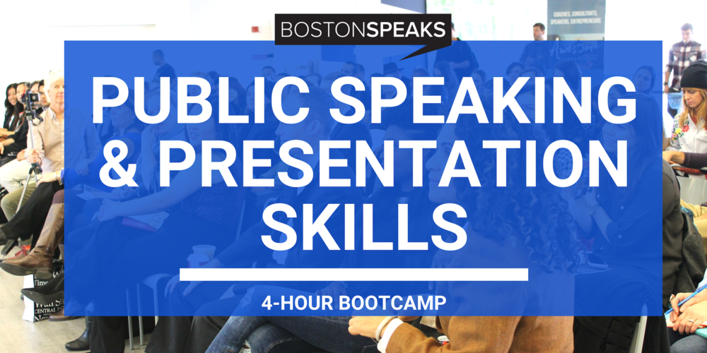 Make Public Speaking Scared Of You! - AN ACTION-PACKED INTENSIVE THAT WILL HELP YOU BECOME A MORE CONFIDENT, ENGAGING AND POLISHED PUBLIC SPEAKER. (4-HOUR BOOTCAMP)