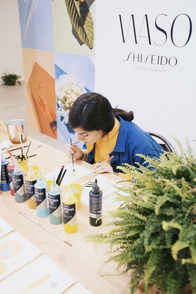 Coco Dávez for Shiseido