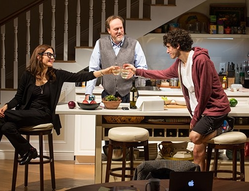 He Bombed With New Haven - From left, Jessica Hecht, Andrew Garman and Ben Edelman in