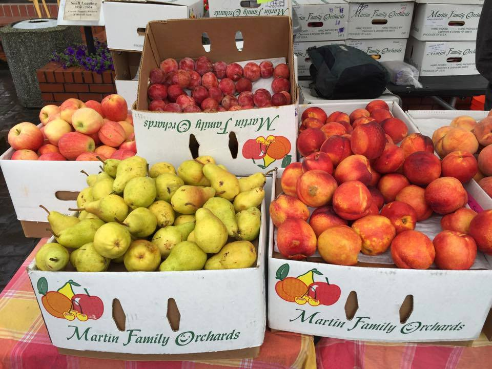 Martin Family Orchards   Delicious Fuji Apples used in the Apple Cardamom Shrub