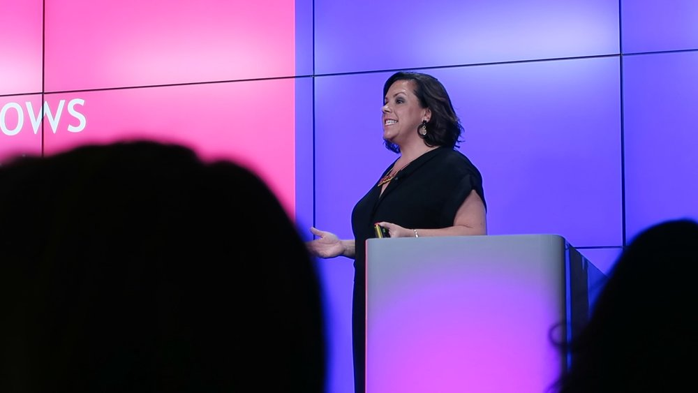 Speaking at Google Head Office, London