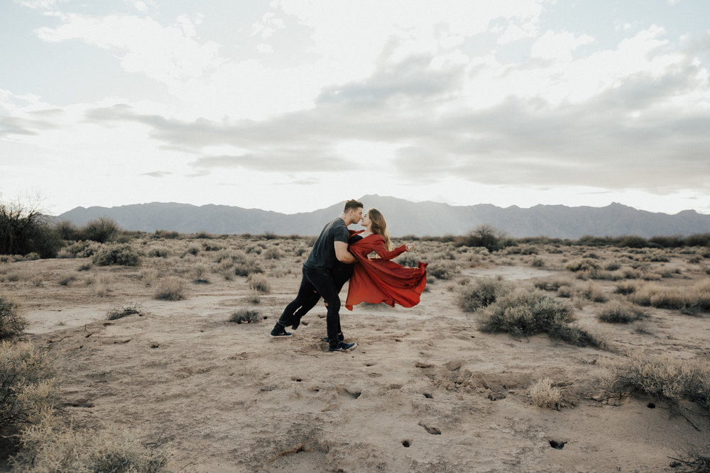 These type of photos are also pretty simple but more posed so I had him lean her back and for her to flick her dress up and let go and I am constantly shooting to get the perfect shot.