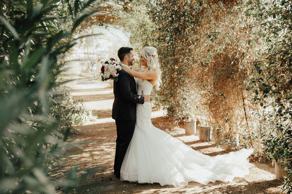 Could you think of a more special moment between a bride and her husband.