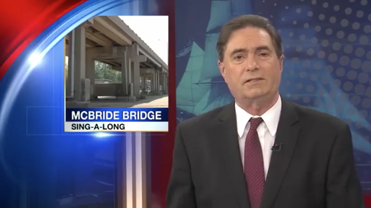Watch the beginning of the story - JET anchor David Belmondo can't help smiling at the unflagging efforts of ErieCPR to save the McBride Viaduct!  (Hey Mr. Belmondo - would you come take a walk over the Viaduct with the ErieCPR President, the architect Adam Trott?)