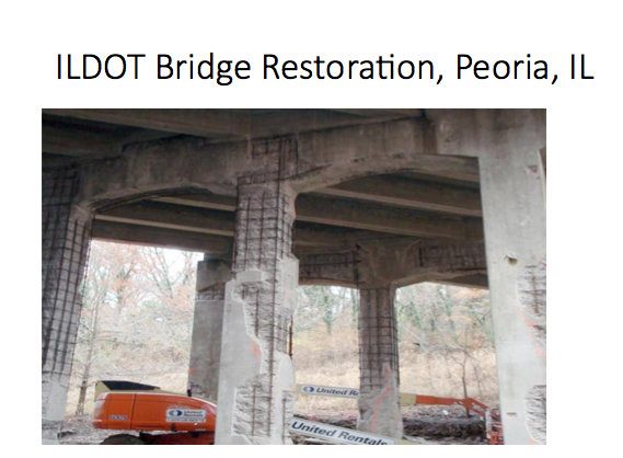 Bridges in much worse condition than the McBride Viaduct, like this one in Illinois, are regularly repaired.