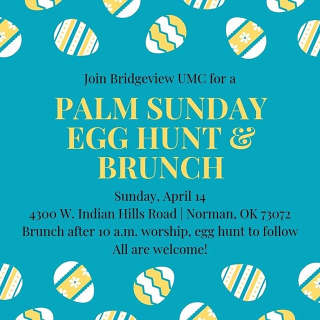 Join us this Sunday for worship as we end the season of Lent together and move into Holy Week, a very important week in the Christian year. We will share a potluck lunch after worship.