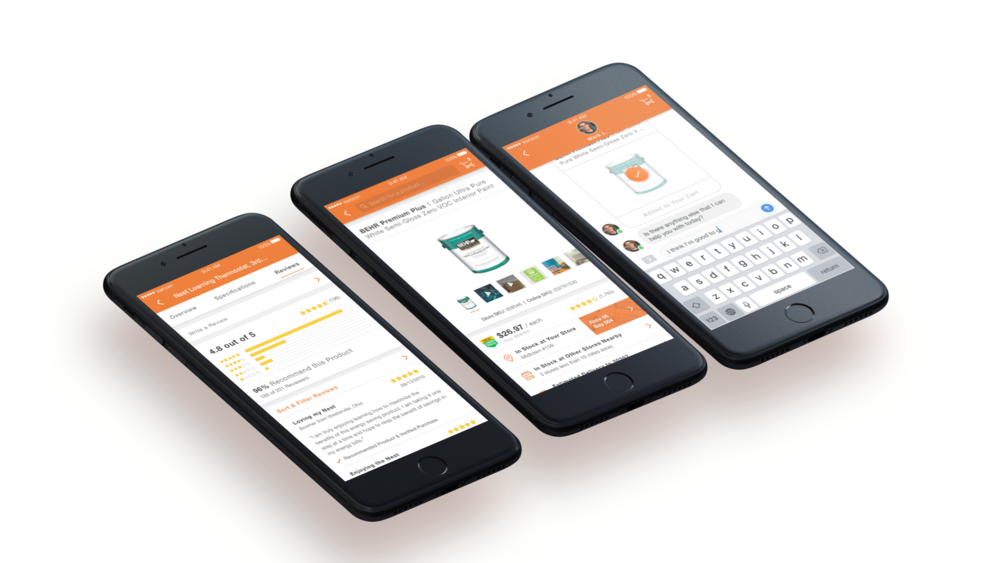 The Home Depot - iOS & Android App