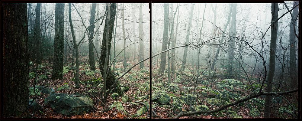 South Mountain at Foxs Gap, Maryland