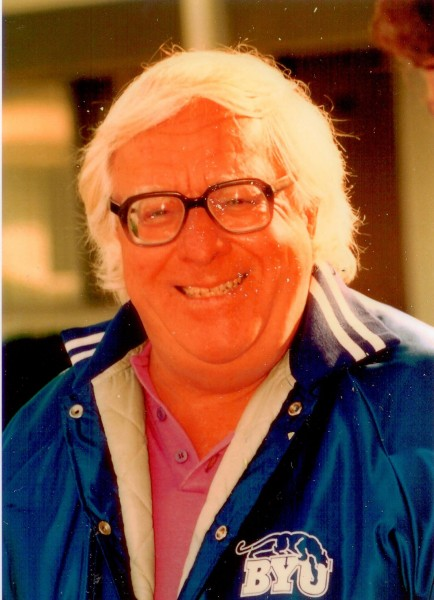 Ray Bradbury at the Santa Barbara Writers Conference in 1988