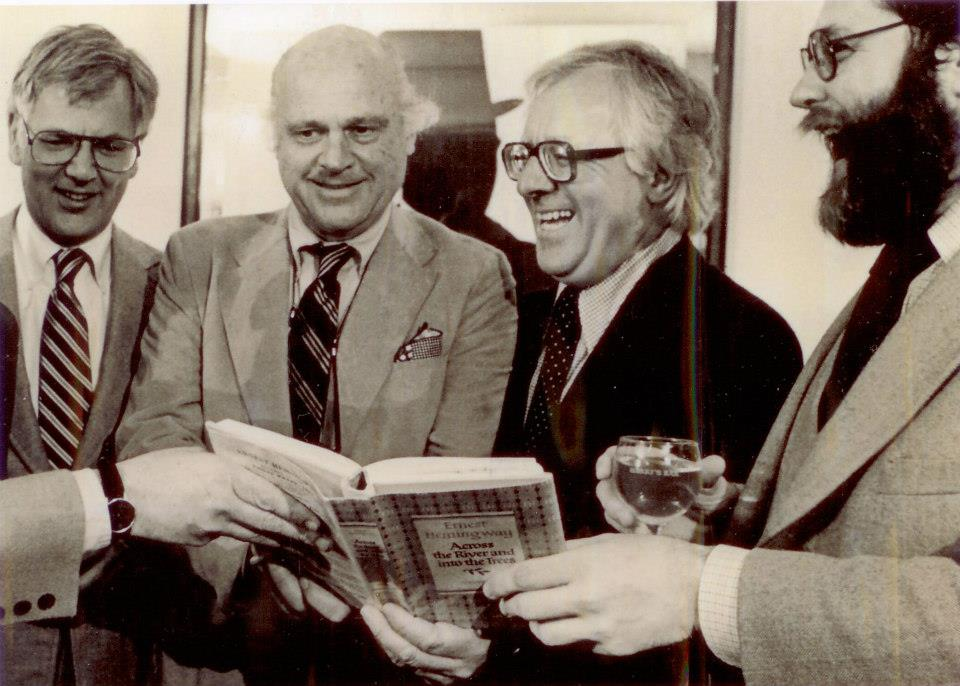 Barny, Ray Bradbury, and friends