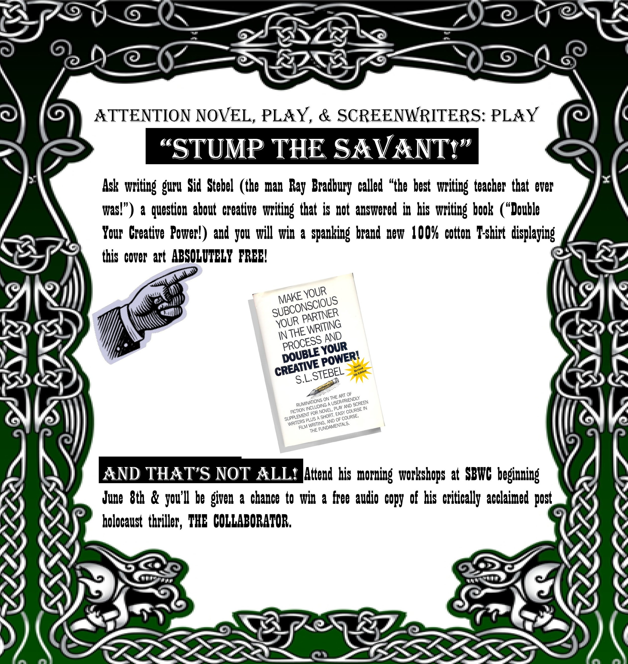 Stump the Savant