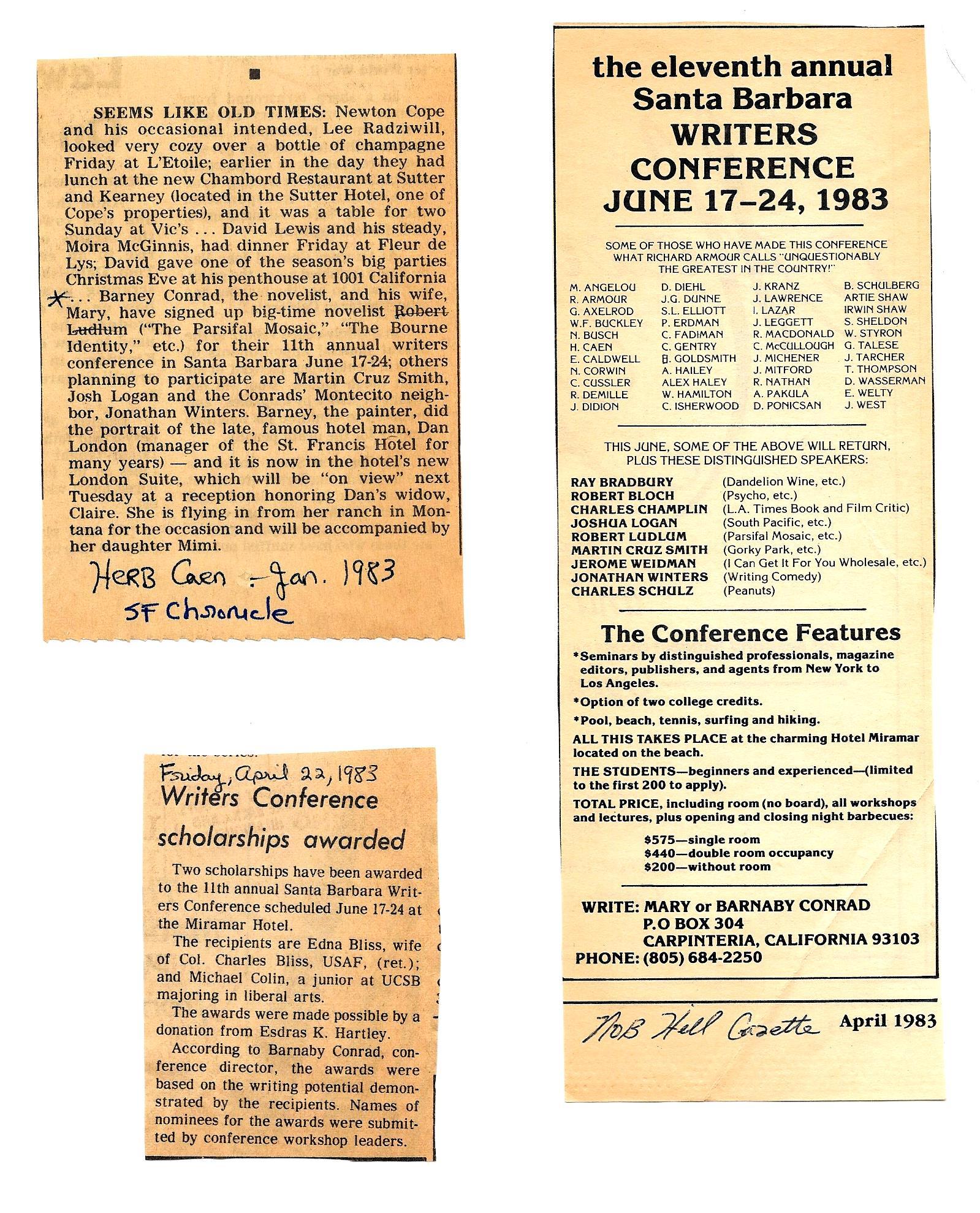 June 1983 news 2