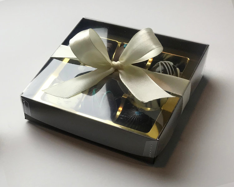 Gift box of 9 hand made chocs afan vale chocolates gift box of 9 hand made chocs negle Choice Image
