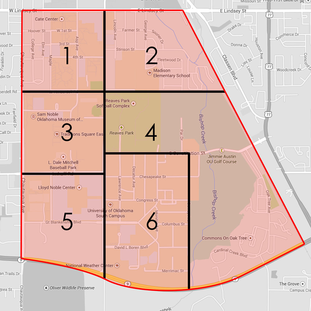 The large site is divided into 6 zones; below are some examples of the urban mapping and analysis for zone number 4.