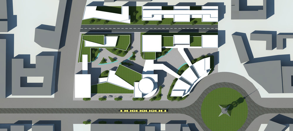 Iris Complex Site Plan