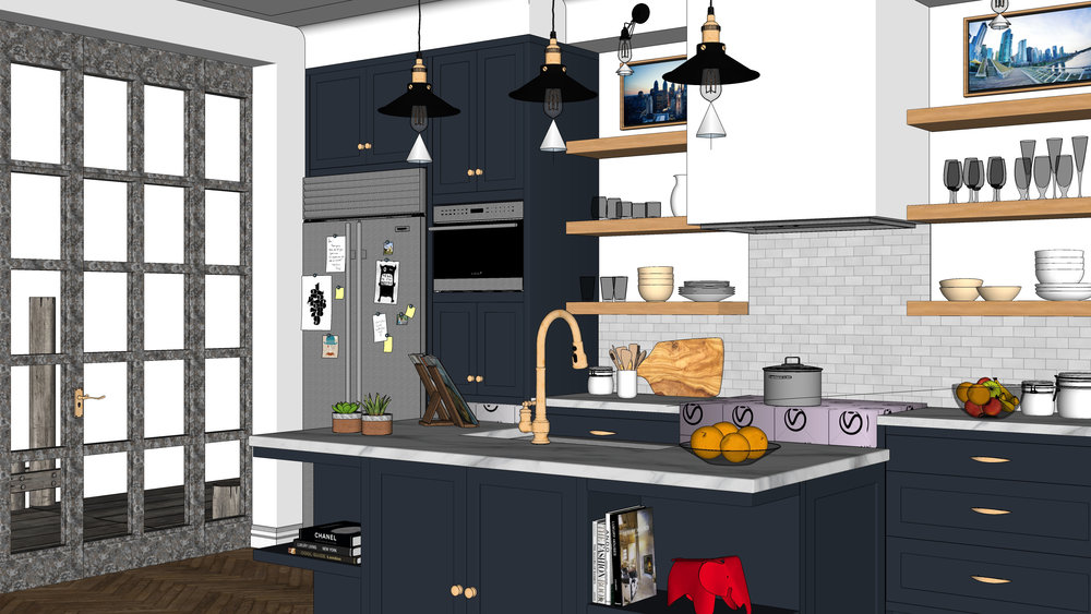 Contemporary Kitchen Screenshot View 1.jpg