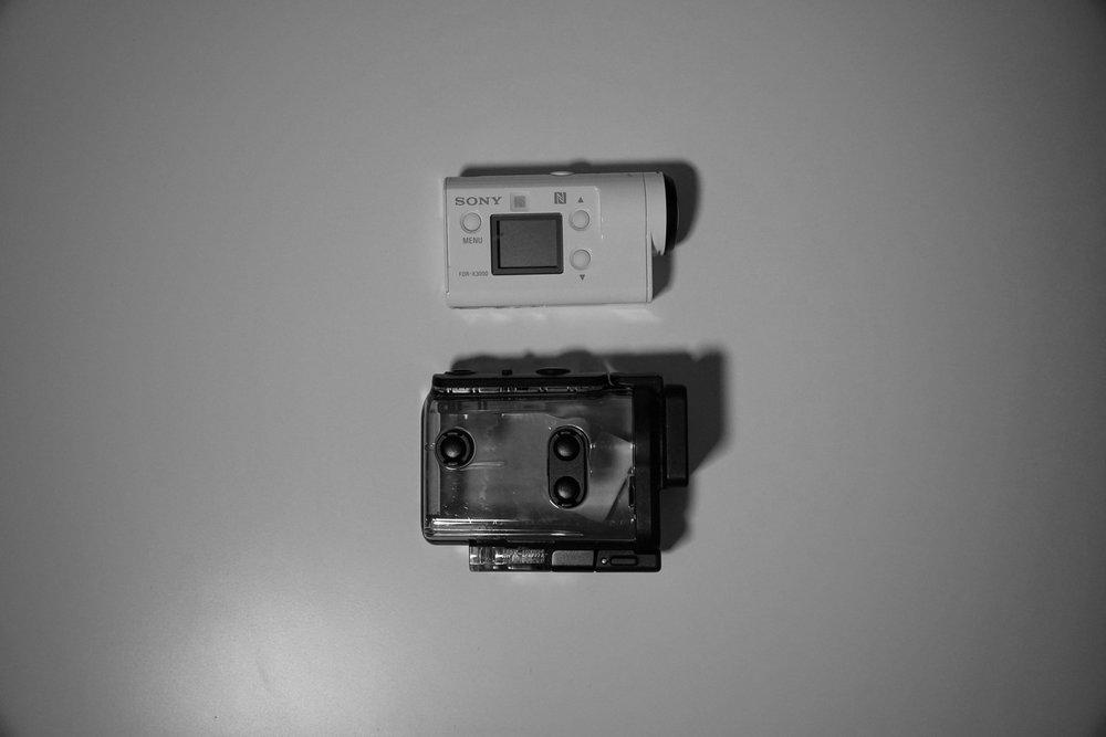Sony X3000R - 4K Action Camera -