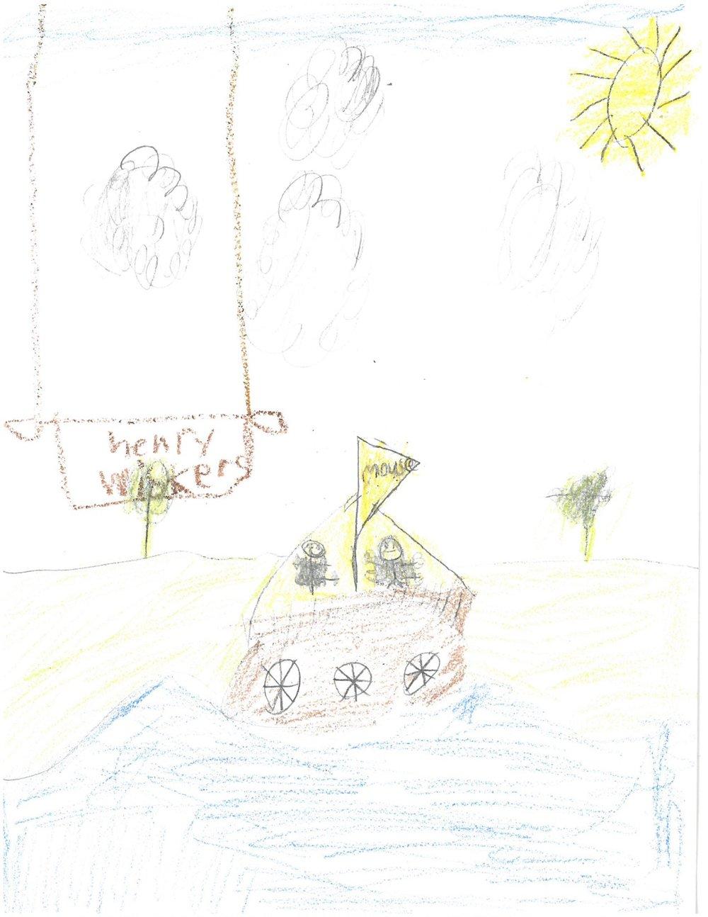 By Mac, 2nd Grade