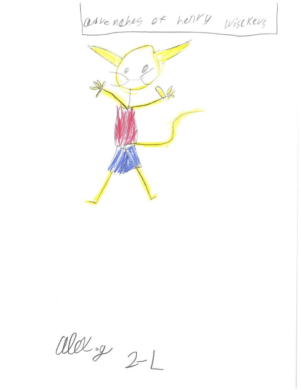 By Alex, 2nd Grade