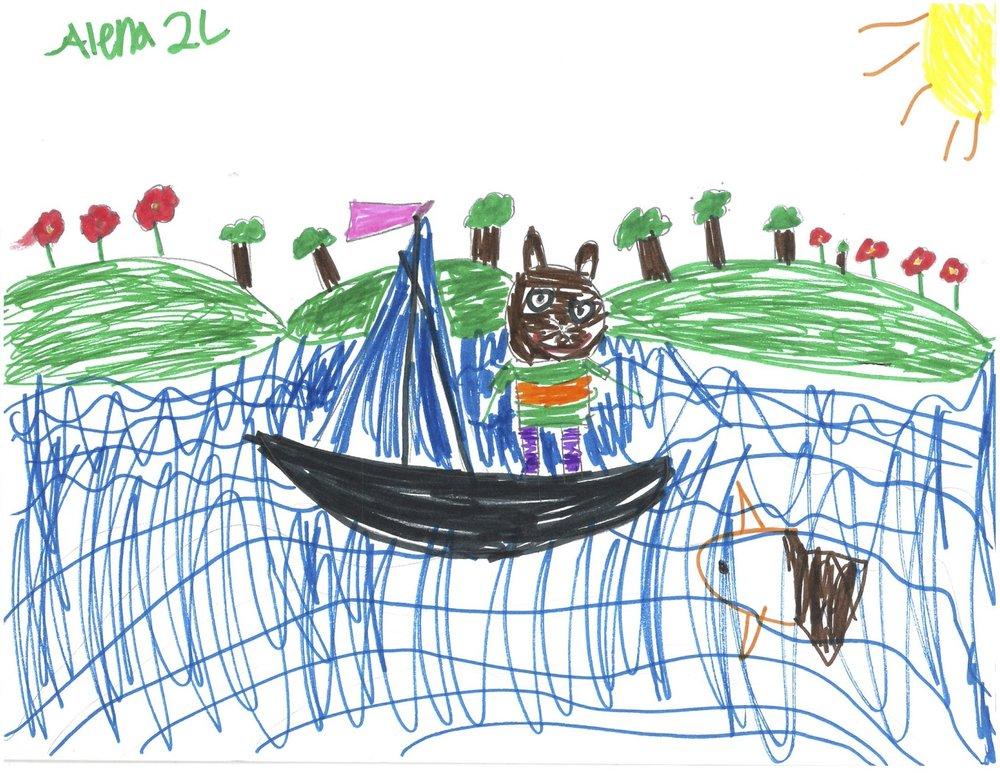 By Alena, 2nd Grade