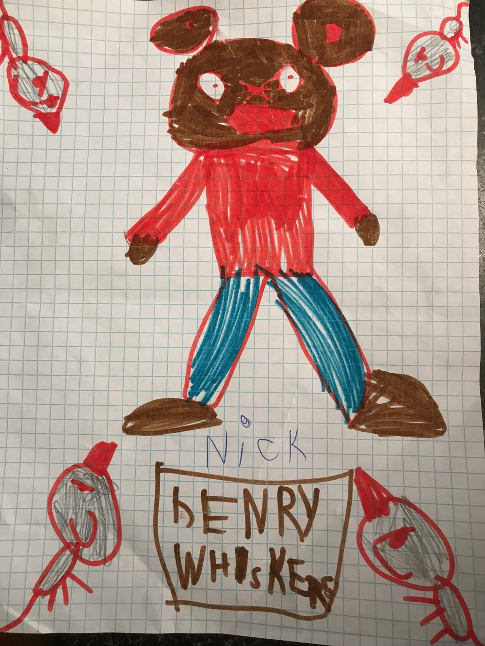 Nick, Grade 1