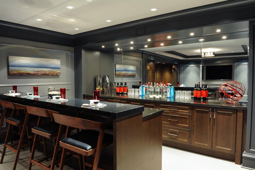 basement bar design