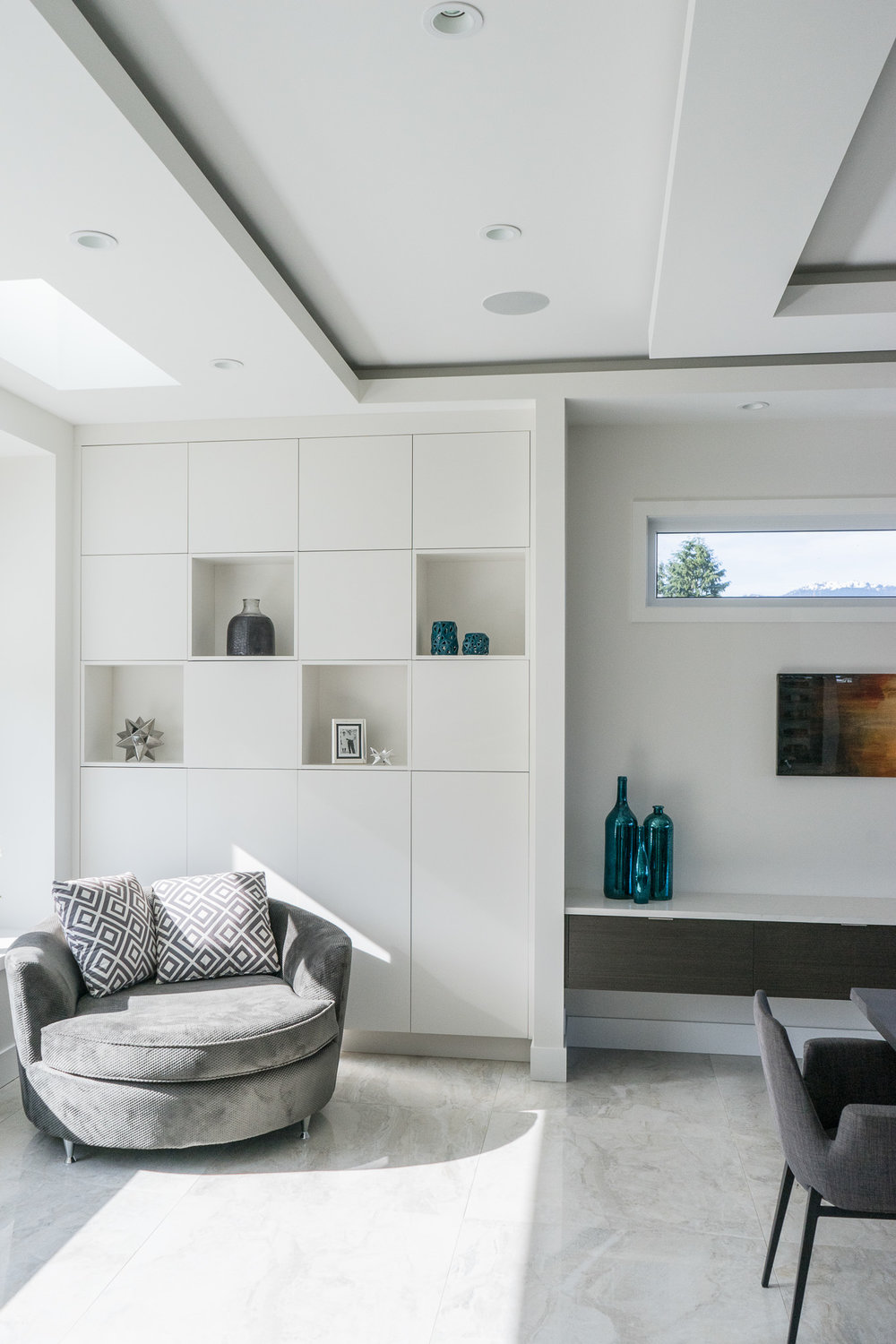 contemporary cabinetry and furniture