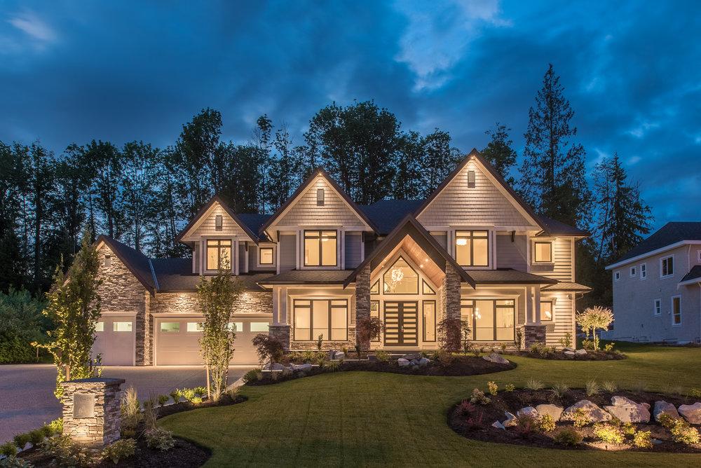 grand home exterior