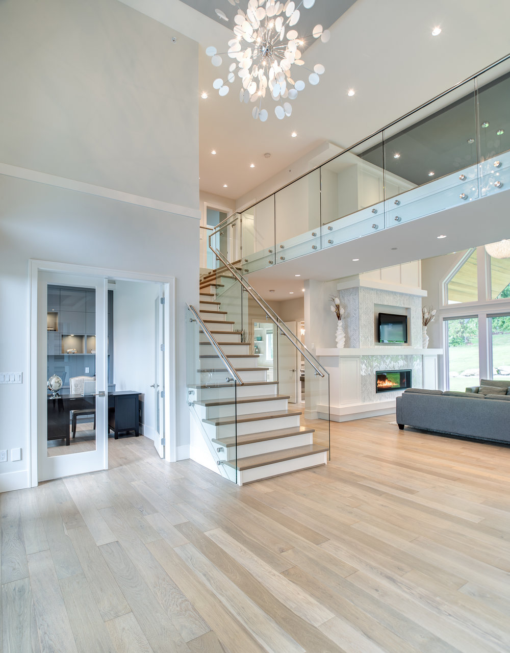 contemporary stairs