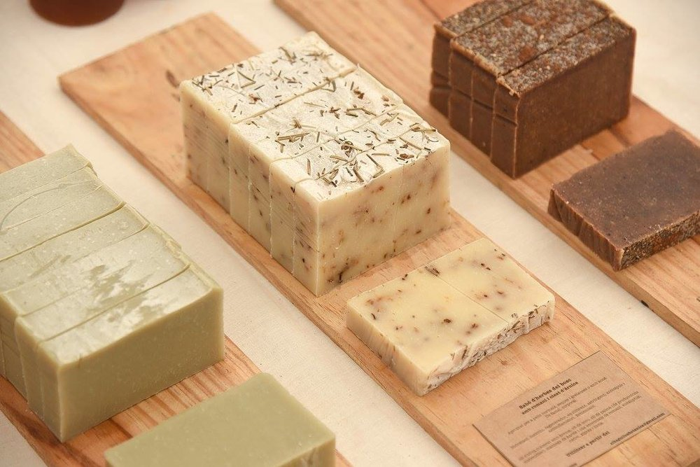 Los productos - la materia prima, el proceso de elaboración...