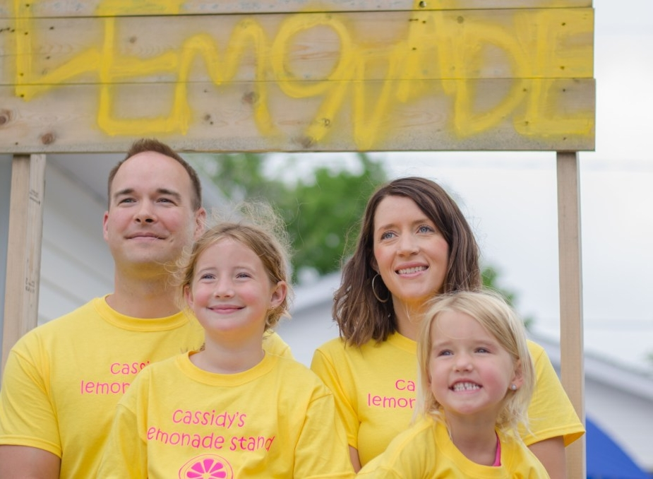 About Cassidy's Lemonade Stand - In 2012, at the age of 4, Cassidy Evans was diagnosed with Cystic Fibrosis and their family made it their mission to find a cure for this horrible disease. In 2013, Cassidy decided she wanted to be a part of the cure and she was inspired to create Cassidy's Lemonade Stand. Even though, she spends hours a day doing treatments and taking medications to keep the awful effects of Cystic Fibrosis at bay, she doesn't let it get her down. Her zest for life along with the secret family recipe of delicious lemonade has brought thousands of people from far and wide to support Cassidy and to help raise money and awareness....literally turning lemons into lemonade. You can follow their journey on Facebook & Instagram!
