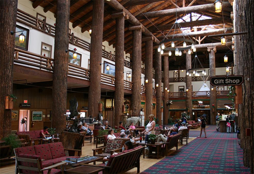 The main lobby.