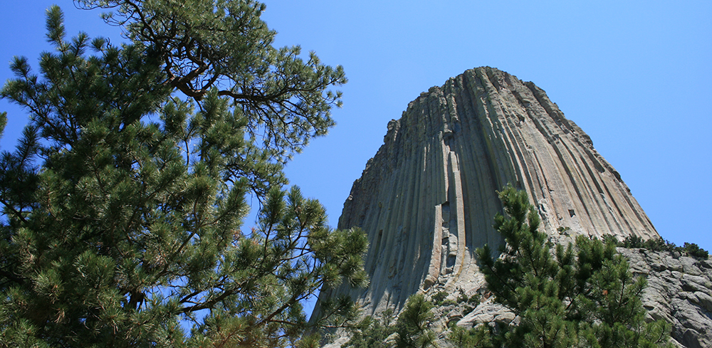 Devils Tower, northeastern Wyoming.