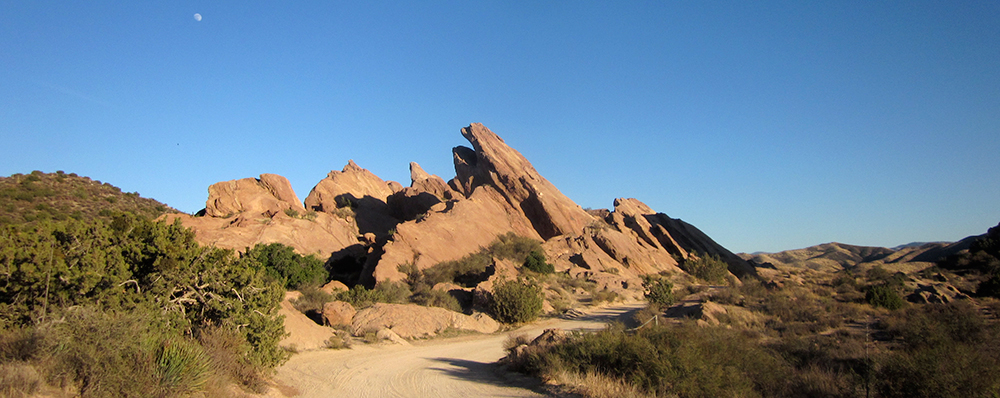 My last visit to Vasquez Rocks, January 2012.